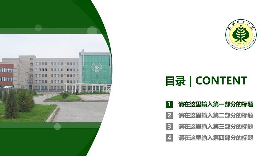 武威职业学院PPT模板下载_幻灯片预览图3