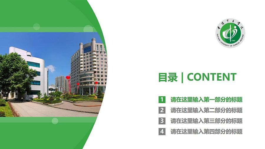贵阳中医学院PPT模板_幻灯片预览图3