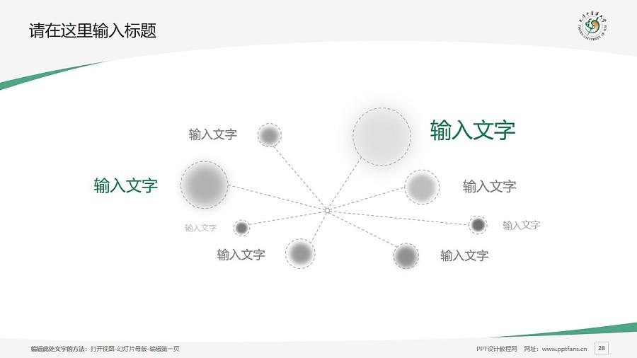 天津中医药大学PPT模板下载_幻灯片预览图28