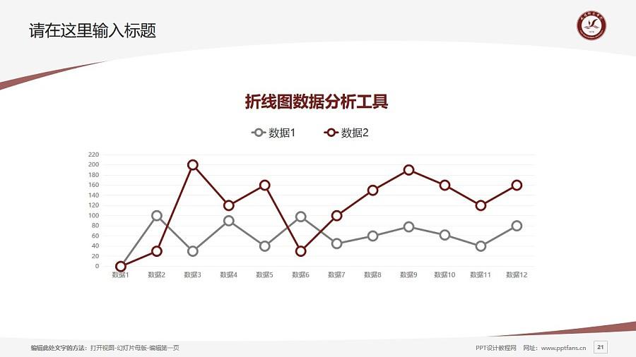 咸阳师范学院PPT模板下载_幻灯片预览图21