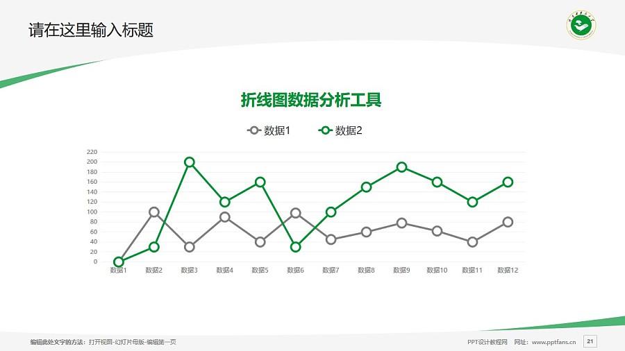 陕西中医药大学PPT模板下载_幻灯片预览图21