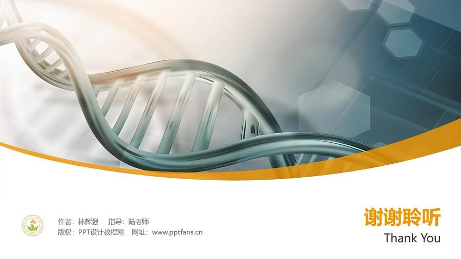 天津医学高等专科学校PPT模板下载_幻灯片预览图32
