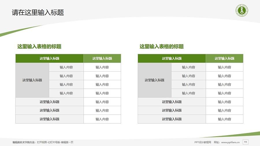 内蒙古师范大学PPT模板下载_幻灯片预览图11