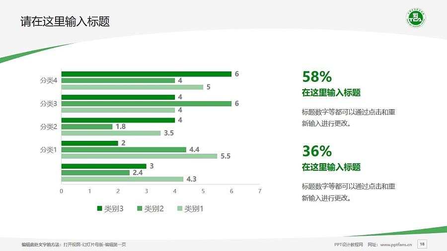 天津藝術職業學院PPT模板下載_幻燈片預覽圖18