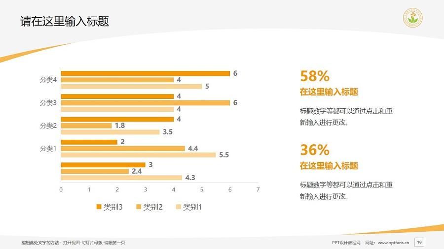 天津医学高等专科学校PPT模板下载_幻灯片预览图18