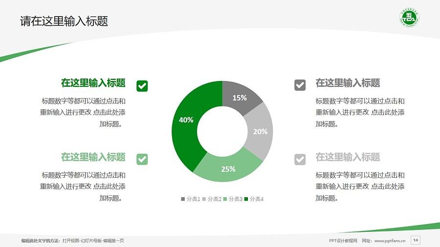 天津藝術職業學院PPT模板下載_幻燈片預覽圖14