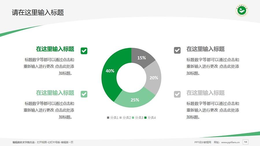 陕西中医药大学PPT模板下载_幻灯片预览图14