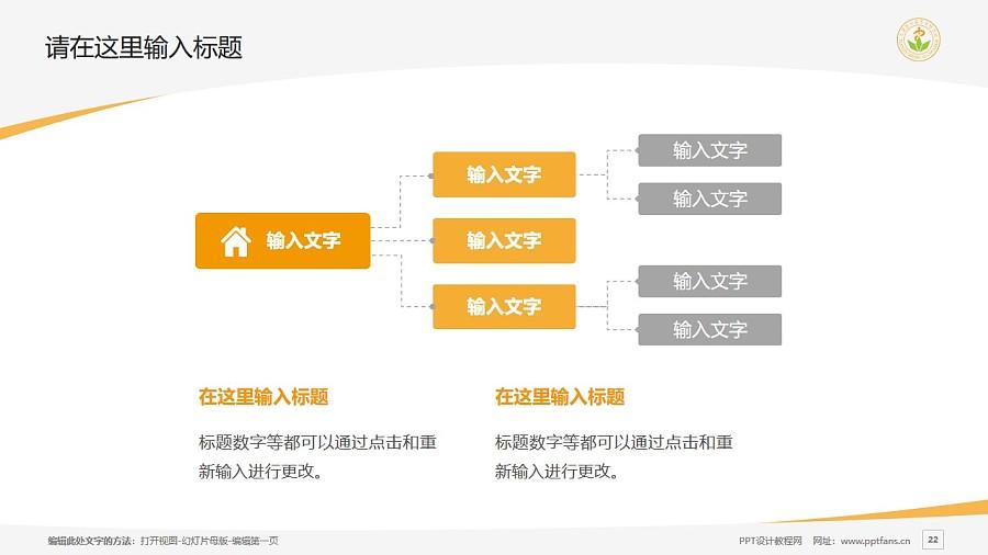 天津医学高等专科学校PPT模板下载_幻灯片预览图22