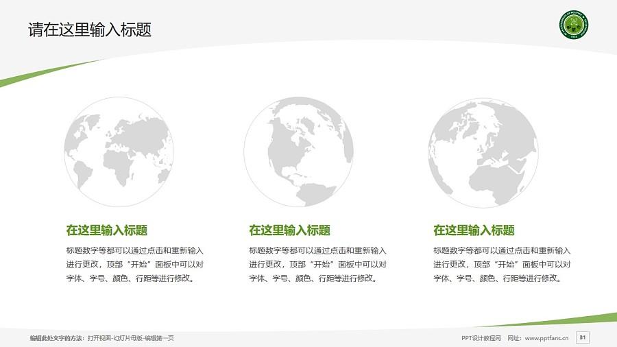 西安科技大学PPT模板下载_幻灯片预览图31