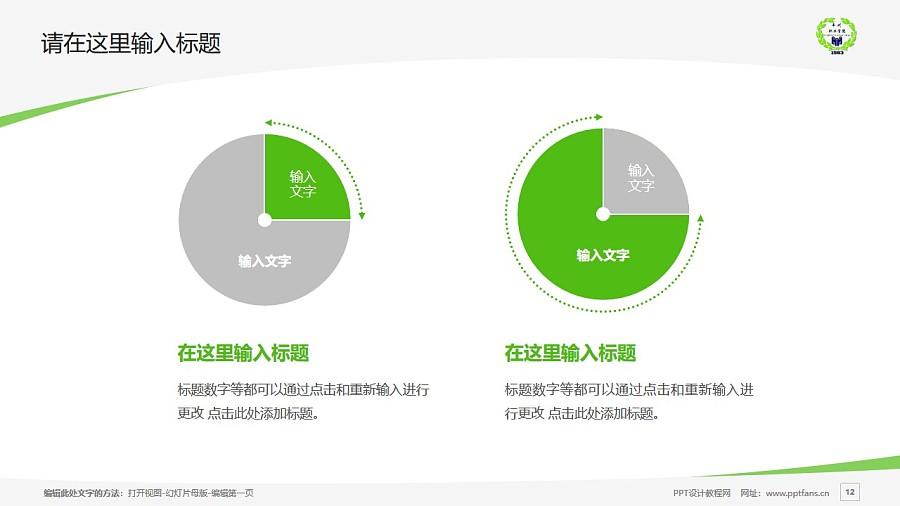 内蒙古丰州职业学院PPT模板下载_幻灯片预览图12
