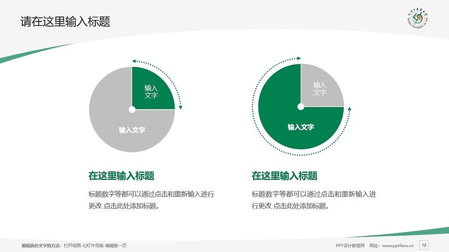 天津中医药大学PPT模板下载_幻灯片预览图12