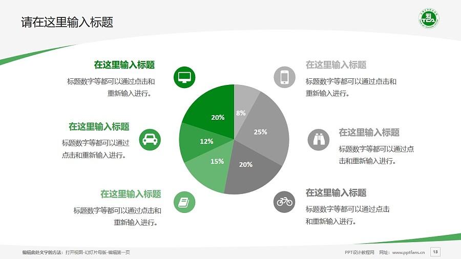 天津藝術職業學院PPT模板下載_幻燈片預覽圖13