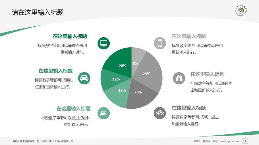 天津中医药大学PPT模板下载_幻灯片预览图13