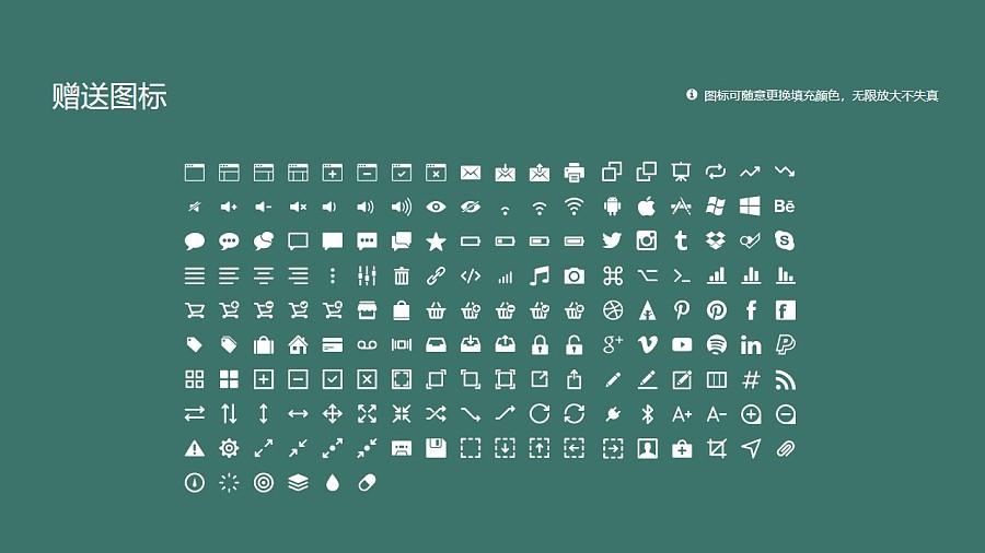 石家庄经济学院PPT模板下载_幻灯片预览图33