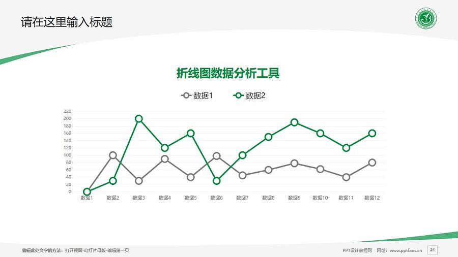 楚雄医药高等专科学校PPT模板下载_幻灯片预览图21