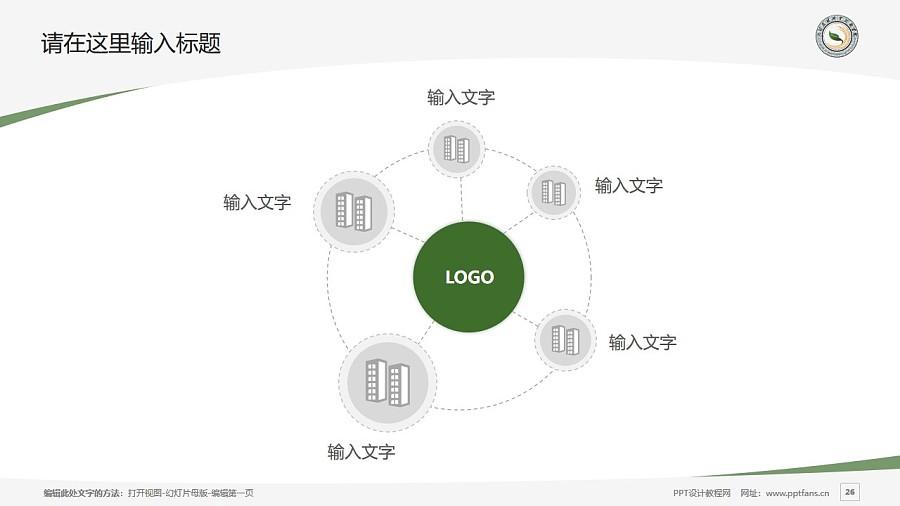大理农林职业技术学院PPT模板下载_幻灯片预览图26