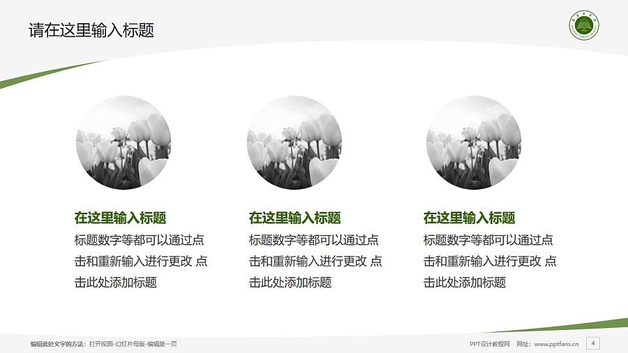 西南林业大学PPT模板下载_幻灯片预览图4