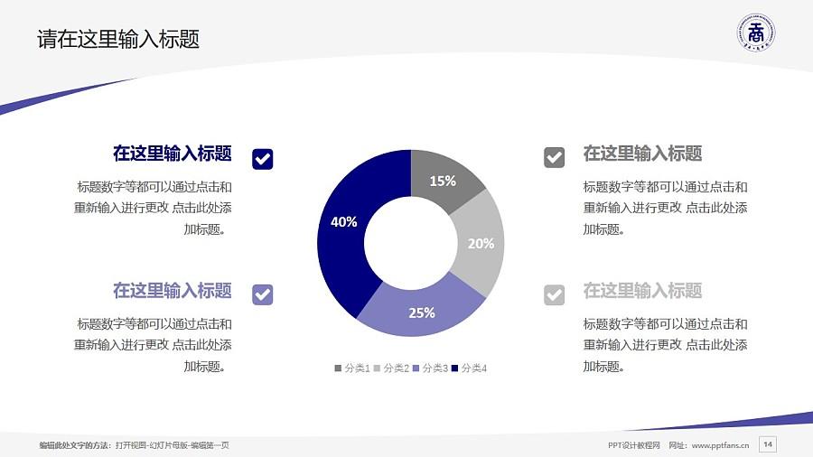 云南工商学院PPT模板下载_幻灯片预览图14