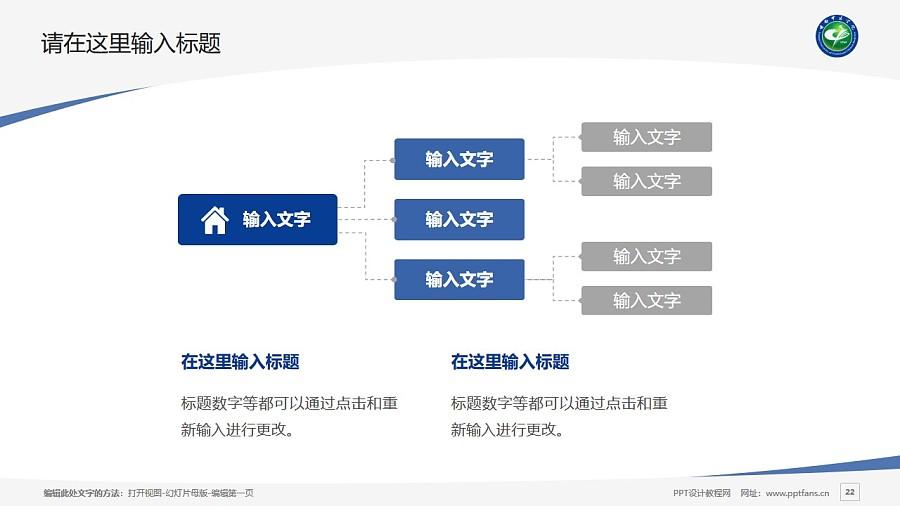 云南中医学院PPT模板下载_幻灯片预览图22