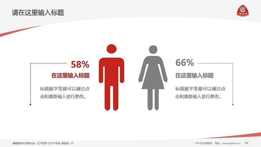 中国医科大学PPT模板下载_幻灯片预览图23