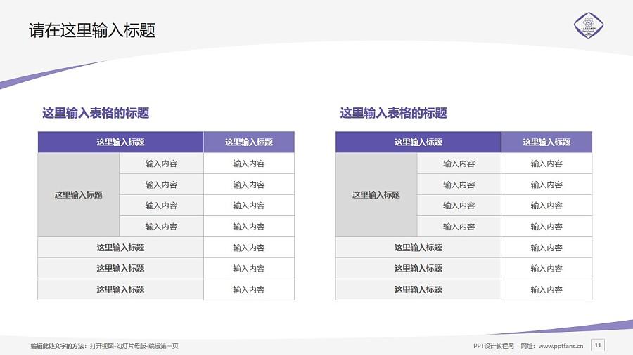 长春东方职业学院PPT模板_幻灯片预览图11