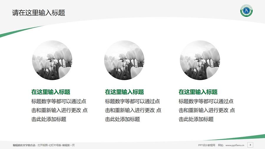 沈阳农业大学PPT模板下载_幻灯片预览图4