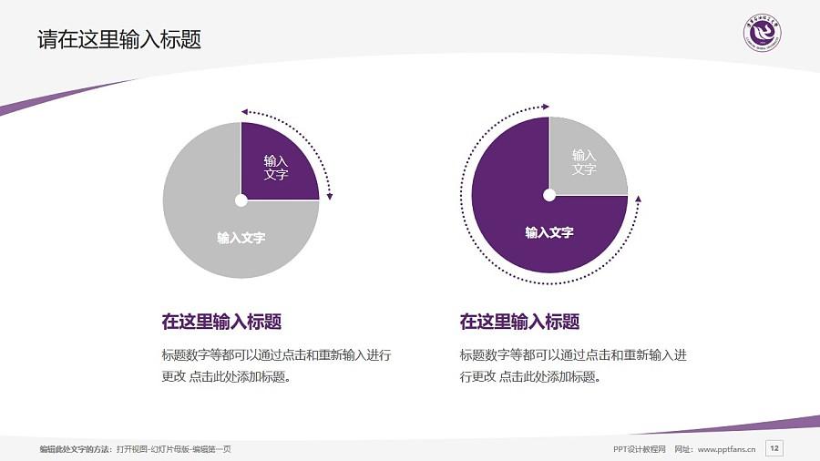 辽宁石油化工大学PPT模板下载_幻灯片预览图12