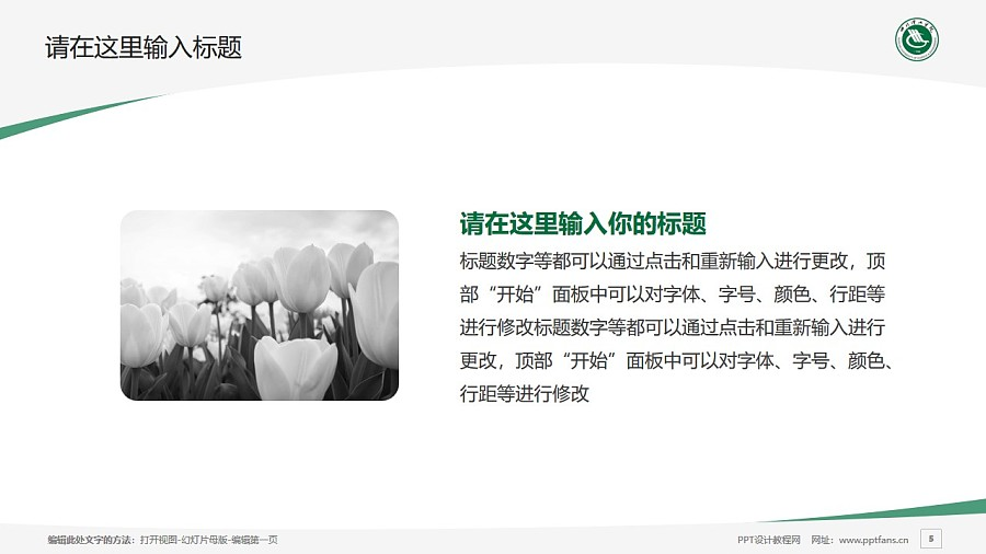 四川理工学院PPT模板下载_幻灯片预览图5