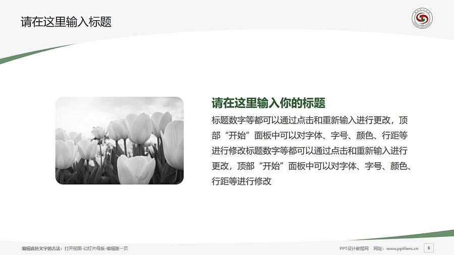沈阳理工大学PPT模板下载_幻灯片预览图5