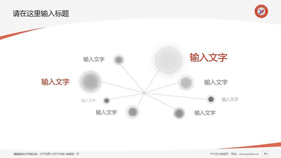 哈尔滨体育学院PPT模板下载_幻灯片预览图28