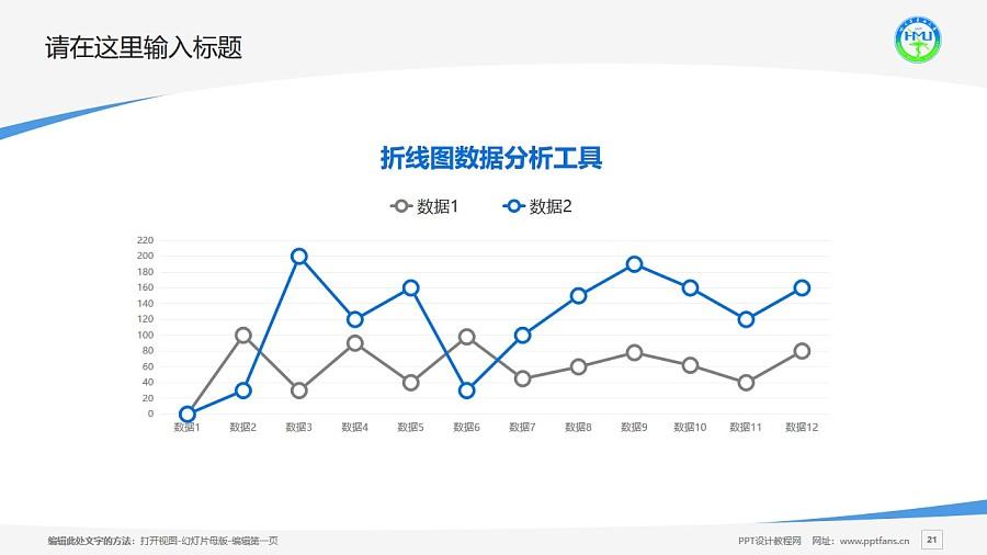 哈尔滨医科大学PPT模板下载_幻灯片预览图21
