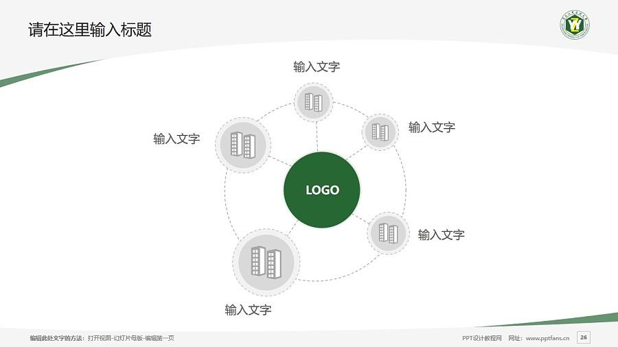 黑龙江中医药大学PPT模板下载_幻灯片预览图26