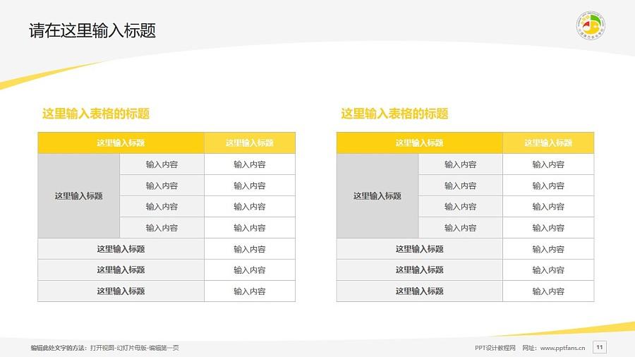 广西艺术学院PPT模板下载_幻灯片预览图11
