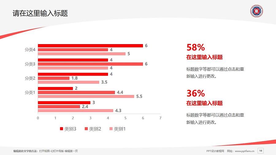 广西培贤国际职业学院PPT模板下载_幻灯片预览图18