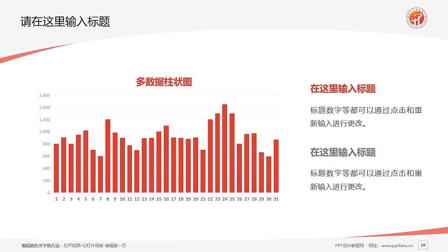 黑龙江商业职业学院PPT模板下载_幻灯片预览图20