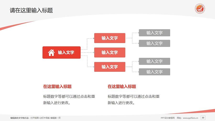 黑龙江商业职业学院PPT模板下载_幻灯片预览图22