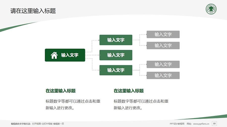 哈尔滨商业大学PPT模板下载_幻灯片预览图22