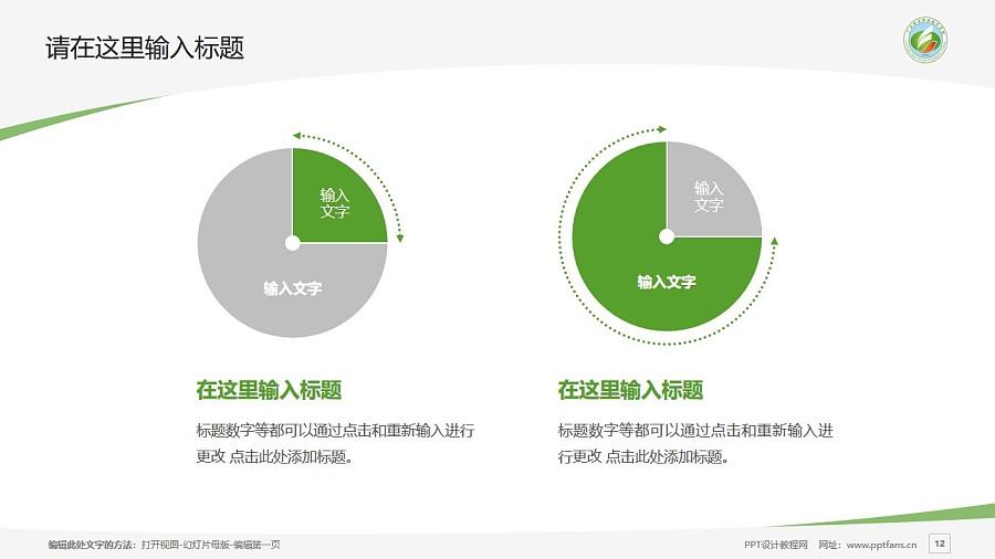 广西农业职业技术学院PPT模板下载_幻灯片预览图12