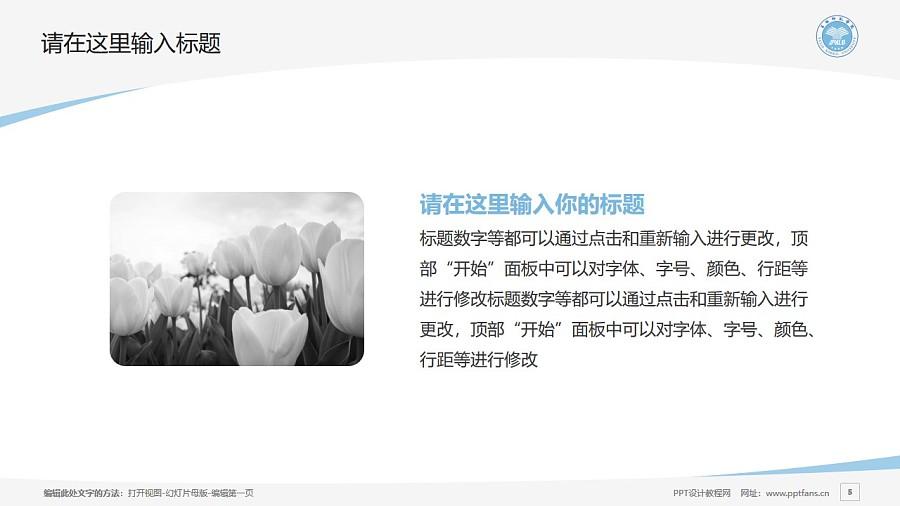 玉林师范学院PPT模板下载_幻灯片预览图5