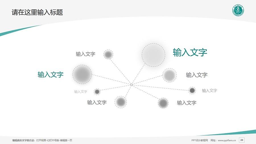 安徽医科大学PPT模板下载_幻灯片预览图28