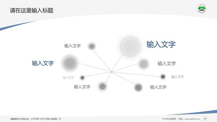 龙岩学院PPT模板下载_幻灯片预览图28