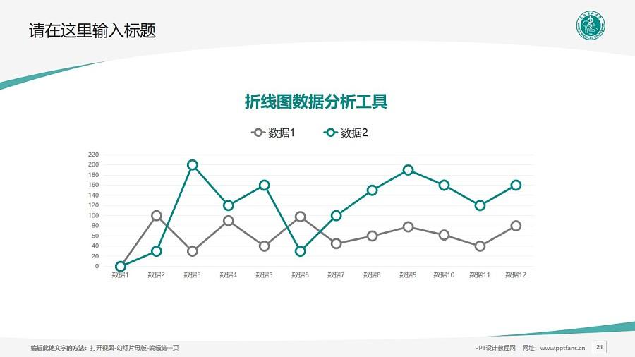 安徽医科大学PPT模板下载_幻灯片预览图21