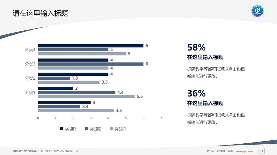 福州海峡职业技术学院PPT模板下载_幻灯片预览图18