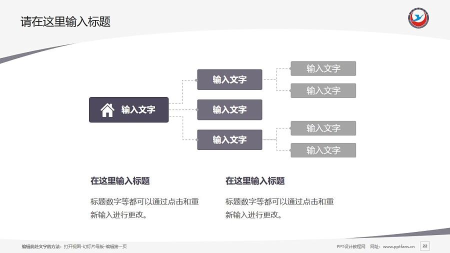 黄冈科技职业学院PPT模板下载_幻灯片预览图22