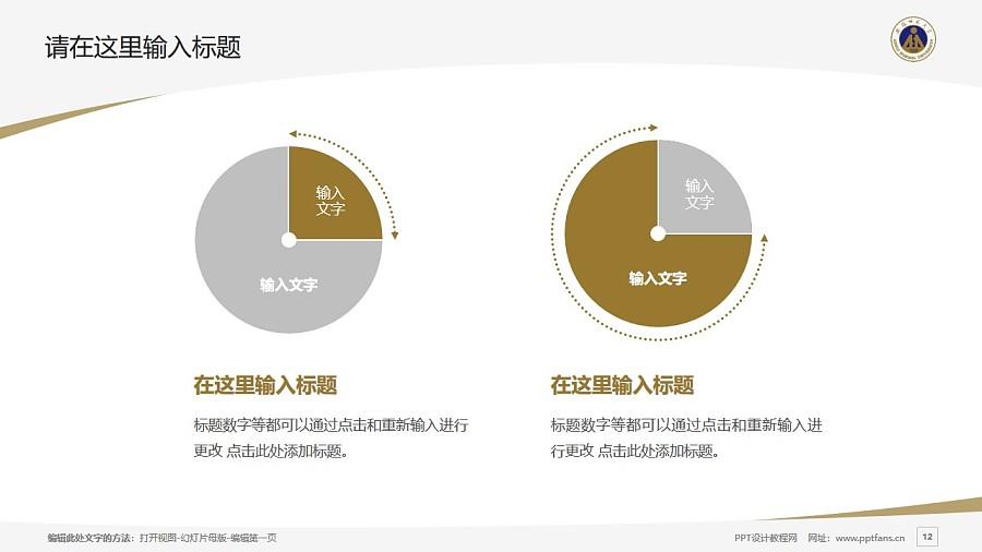 安徽师范大学PPT模板下载_幻灯片预览图12