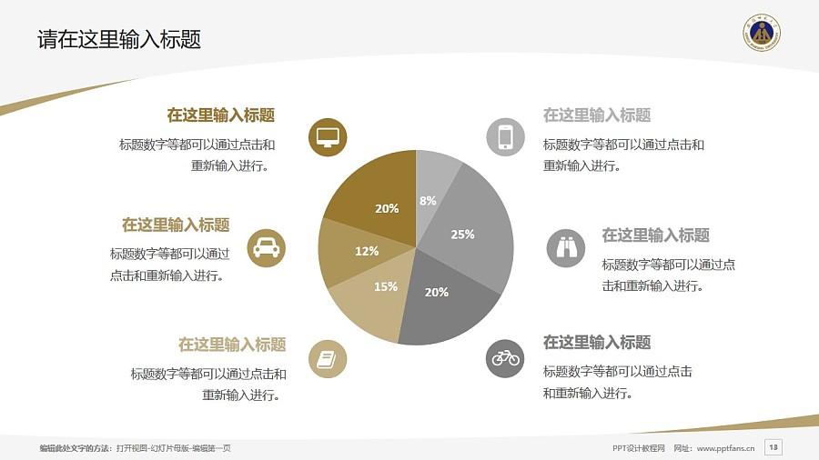 安徽师范大学PPT模板下载_幻灯片预览图13