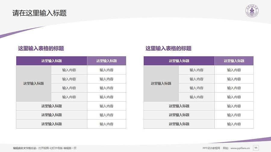 上饶师范学院PPT模板下载_幻灯片预览图11
