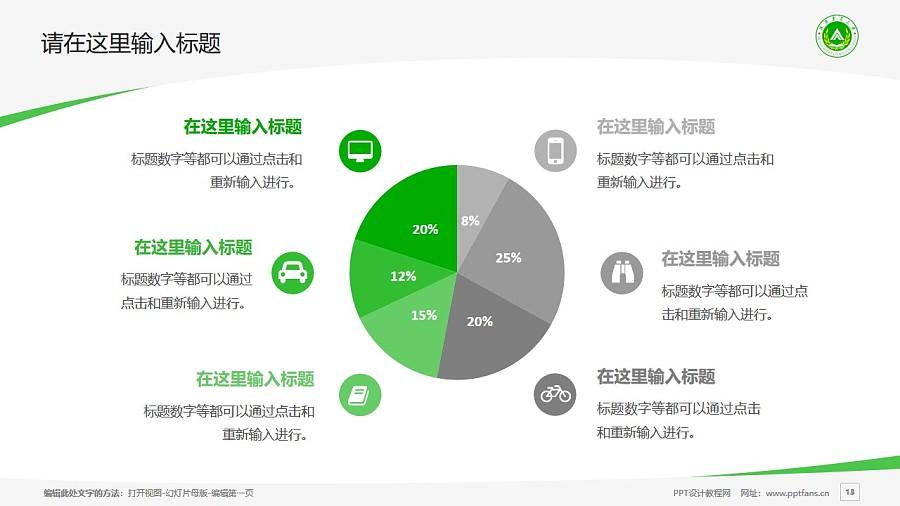 河南农业大学PPT模板下载_幻灯片预览图13