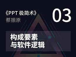 PPT极简术视频教程(03):构成要素与软件逻辑