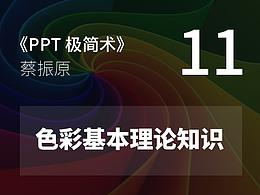 PPT極簡術視頻教程(11):色彩基本理論知識